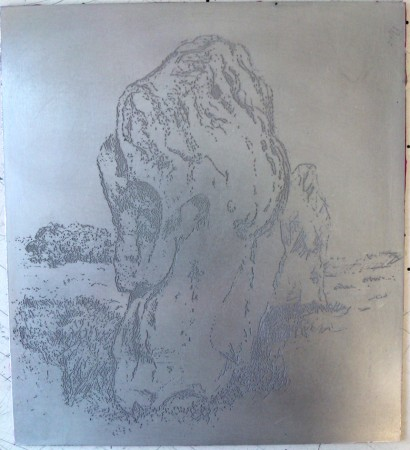 Etching The Plate