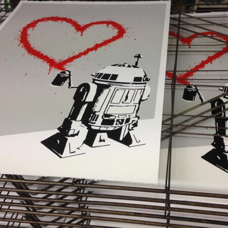 RYCA's R2D2 screen prints