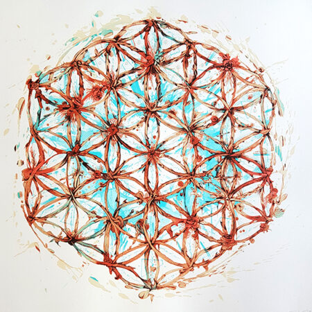 Carne Griffiths Flower of Life